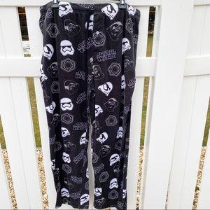 🌼Star Wars Black White Storm Trooper Pajama Pants